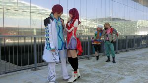 Tales of Graces - Nosy friends by AerithStrife90