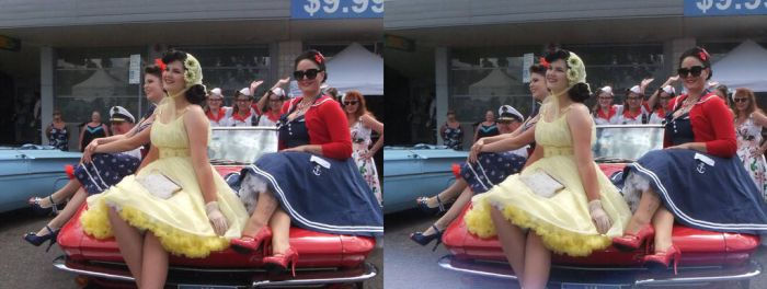 Petticoats and convertibles by 3DMG
