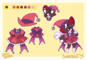 Witch Kitty Adoptable - [CLOSED] by Lord-Kosmos