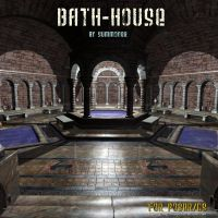 Bath House, by Summoner by FantasiesRealmMarket