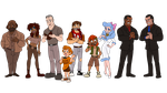 Oliver and Company - Human/Humanization by Trinityinyang