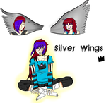 Silver Wings by HoneyandtheDevon