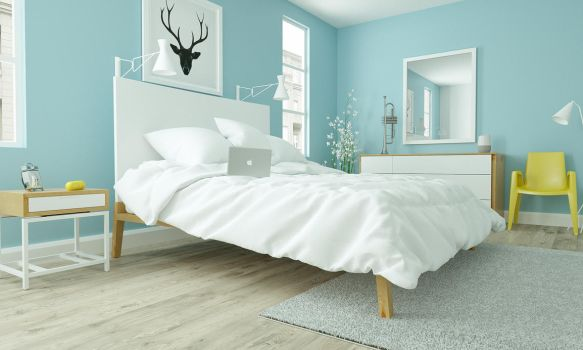 Modern Bedroom Ikea Style by 3DEricDesign