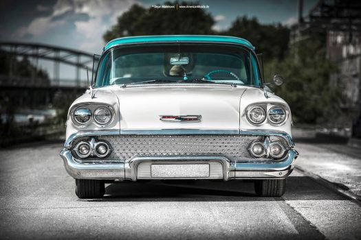 1958 Chevrolet Bel Air - Shot 1 by AmericanMuscle