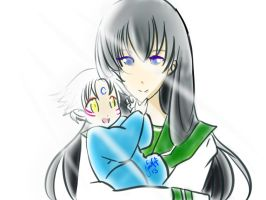 I will protect you Sesshomaru-sama by JeniNeji