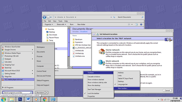 Mac OS Classic VS for Windows 7 by overpk