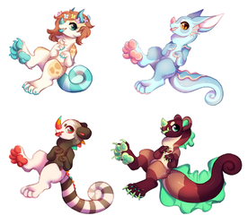 Finished Chimereons! by Flipgang