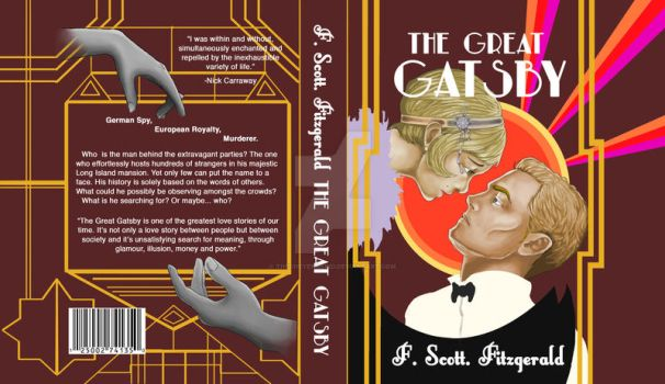 The Great Gatsby Re-Cover by TheCheyenneKid