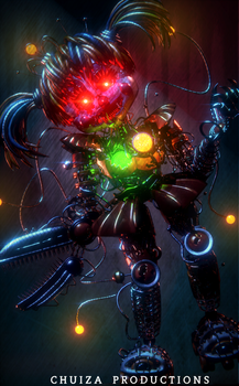 Scrap Baby V2.3 Render - [FNaF 6 FFPS Blender] by ChuizaProductions