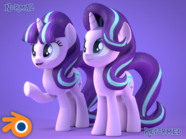 [Blender Release] Starlight Glimmer by MythicSpeed