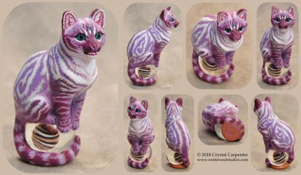 Whimsy the Cat by soulofwinter