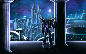 Greek Cybertron Background by Laserbot