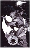 Green Goblin- Marker Illo by ChristopherStevens