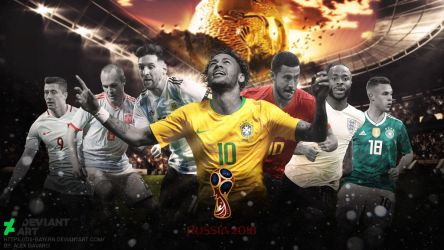 Wallpaper - World Cup 2018 by Ds-Bayern