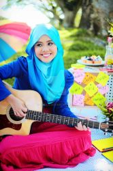 NAJWA LATIF's SMILE by GERILA