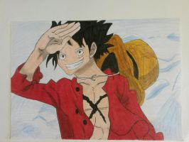 Monkey D. Luffy after timeskip by SicaChii
