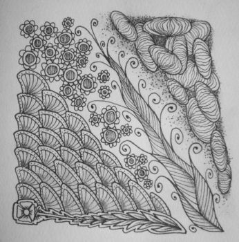 Zentangle 0003 by gormash