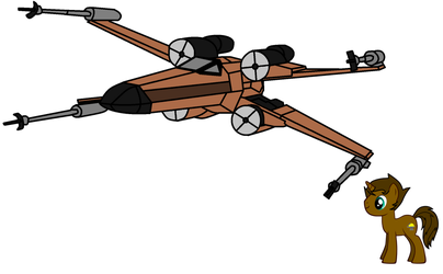 Outrageous Axe's Trotland Starfighter by JustinMella777