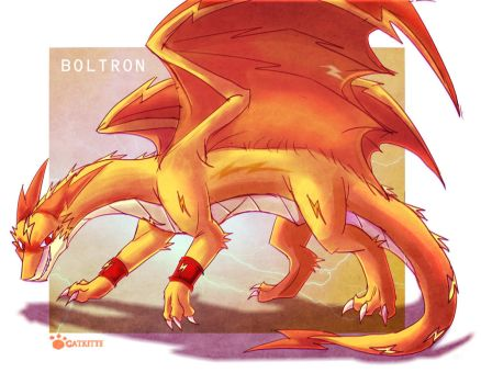Re: BOLTRON the electric dragon by catkitte