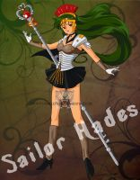 Sailor 'Hades' Pluto by JudySparrow