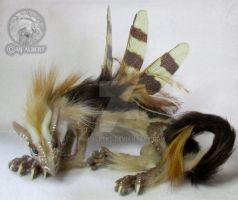 OOAK Fairy Spirit Dragon Art Doll Veeda by M-J-Albert