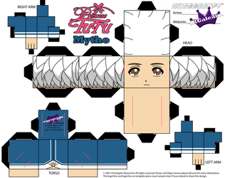 Cubeecraft of Mytho from Princess Tutu Part 1 by SKGaleana