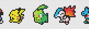 Pokemon Mini Sprites I by Hama-Girl