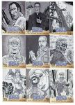 Walking Dead Sketch Cards: 1-9 by AtlantaJones