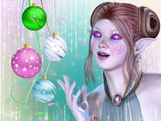 Enchantments of the Holiday by RavenMoonDesigns