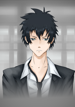 Kogami by WingedJackal