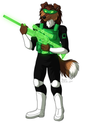 Green lantern : The marksman of Oa by AntiReaper