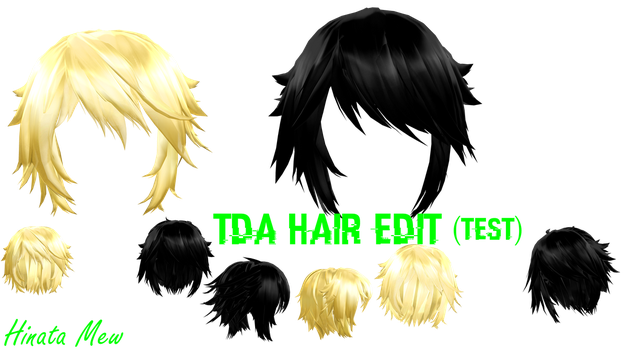 [MMD]- TDA HAIR EDIT (TEST NO DL) by HinataMew