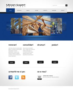 Web Site for construction company by alin0090