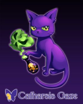 Totally UNevil Witch Cat by CatharsisGaze