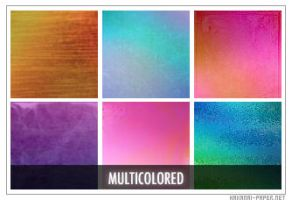 Multi-Colored Icon Textures by hakanaipaper