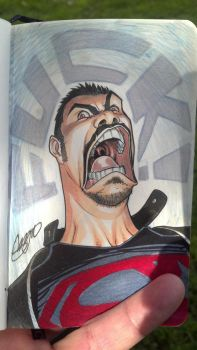 Angry Joe doodle by SergioCuriel