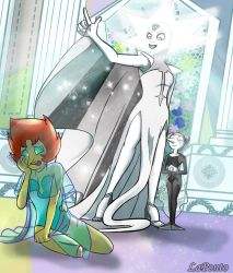 You are not worthy for white diamond by QueenSolaris