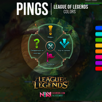 League of Legends Pings - Colors by AliceeMad