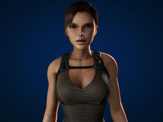 Lara Croft. by SKing-TRF