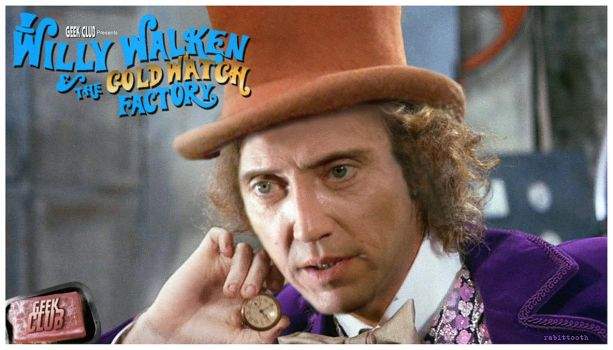 Willy Walken and the Gold Watch Factory by Rabittooth