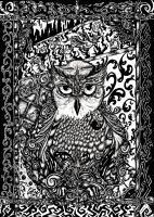 Owls by inkarts