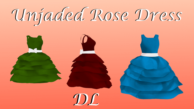 Unjaded Rose Dress Download ( Pmx ready) by cat-tom-boy