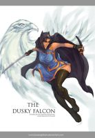 Commission : The Dusky Falcon by bayanghitam