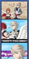 Don't fall now, Corrin by Linked-Fates