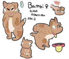 Bambi My Babygirl!!!!!!!!!! by sabrina-the-dog