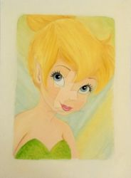 Tinker Bell Portrait by linus108Nicole