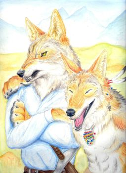 Coyote Brothers by whitewolf61084