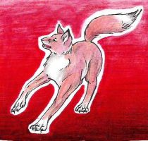 Fox...and Red by pandabarrie