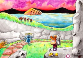 Rayman 3 [The Land of the Livid Dead] by Manjer-art