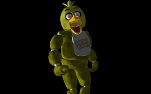 MMD FIVE NIGHTS AT FREDDY'S Chica DL by XHaloMMDArtX